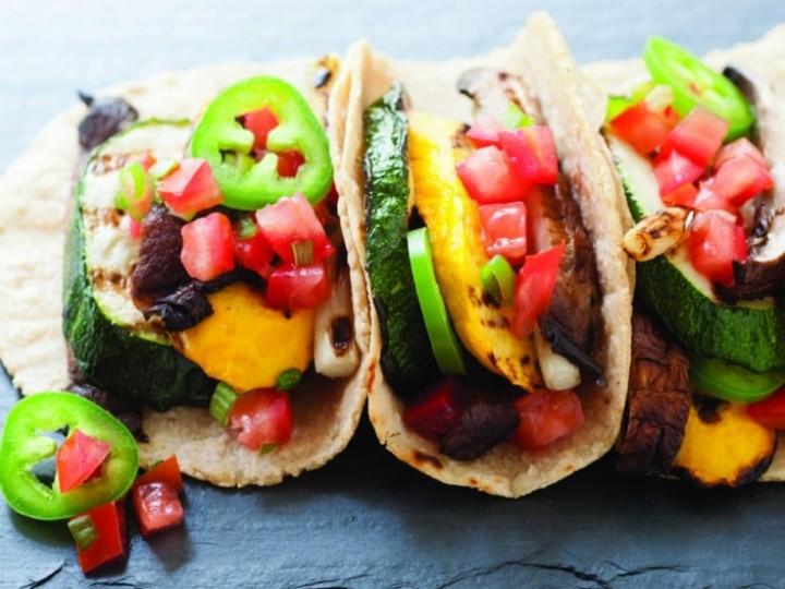 Yummy Grilled Vegan Tacos