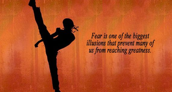 Kick Your Fear To The Curb