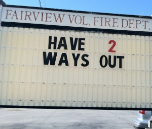 Have Two Exits