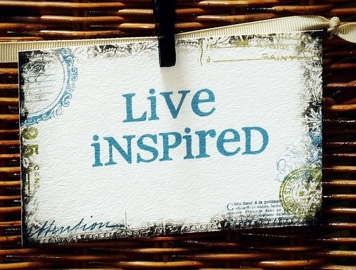 Three Steps for Inspired Living
