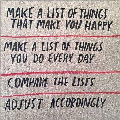 """Happy Lists"""